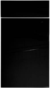 Iiris högblank svart
